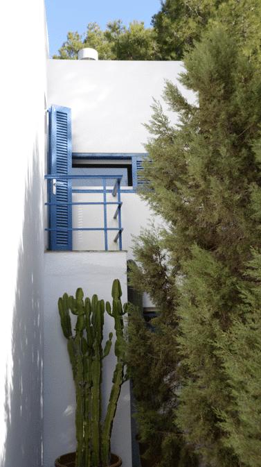 06 Balkon vor Kueche